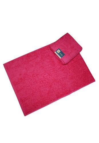 Martel pink Martel Basic Hand Towel A138CHL0869BA0GS_1