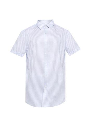 BOSS blue Jats 10215525 Shirt - BOSS Men A90A9AAD48347DGS_1