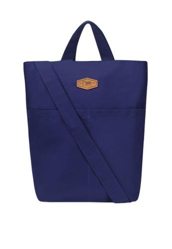 Ripples blue Faith Canvas Sling Bag 06322ACCF362AFGS_1