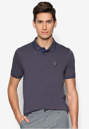 滾邊徽章POzalora時尚購物網的koumi koumiLO 衫, 服飾, Polo衫