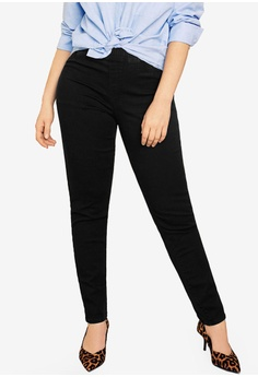 b32fa6ec1602 Violeta by MANGO black Plus Size Dark Massha Jeggings 67D1CAAEC17AD0GS 1