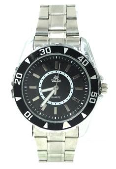 Valia Theo Unisex Stainless Steel Strap Watch 8168