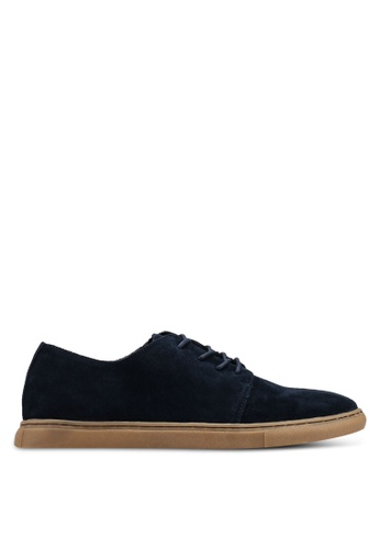 MANGO Man navy Suede Shoes A7784SH945C266GS_1