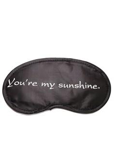 Padded Travel Eye Mask Youre My Sunshine