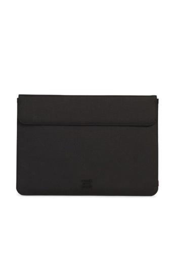 """Herschel black Herschel Spokane Sleeve for MacBook Pro 15"""" (all) 33ED9AC882D244GS_1"""
