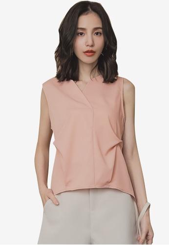 29794f0587c44 Buy Tokichoi Trendy Cut V-Neck Strap Vest Top Online on ZALORA Singapore