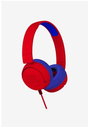 JBL red JBL JR300 Kids on-ear headphones DC793AC648B872GS_1