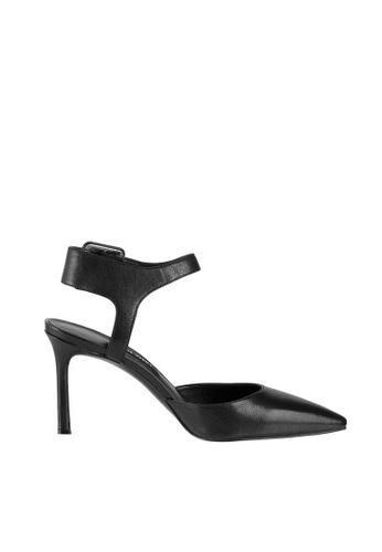 Nine West black NWELISABETI Ankle Strap Pumps 9D1D9SHEBA28CDGS_1