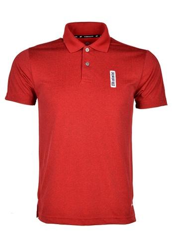 Cheetah red CTH unlimited Short Sleeve Polo Shirts - CU-7950-C1 72009AA23FFA74GS_1