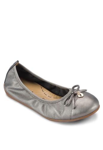 Katty IV 金飾esprit 見工蝴蝶結平底鞋, 女鞋, 鞋