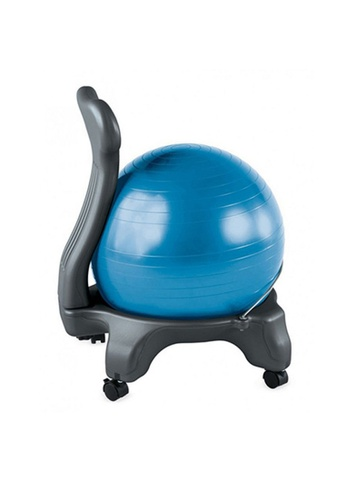 LIVE UP AND LIVE PRO. Gym Ball Chair with Wheels 4BC44SE08A855AGS_1