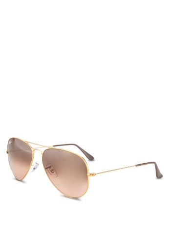 109f89405652f Buy Ray-Ban Aviator Large Metal RB3025 Sunglasses Online on ZALORA Singapore