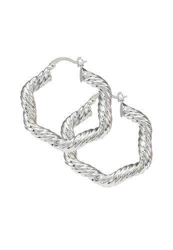 Pieces silver Pcnynna Earrings 3E64FACD6BC7B7GS_1