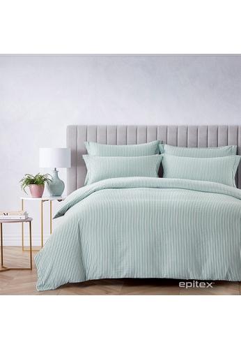 Epitex Epitex Urutora EC7802-3 1400TC Stonewashed Yarn-Dyed Bedsheet 3DCCAHLAE80D5FGS_1