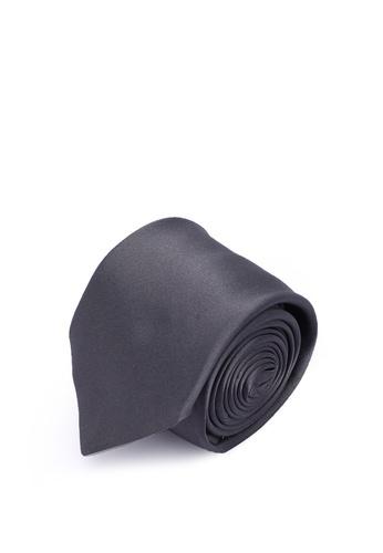 Ferragamo 灰色 絲綢領帶(zt) 73C41AC0AFD31AGS_1