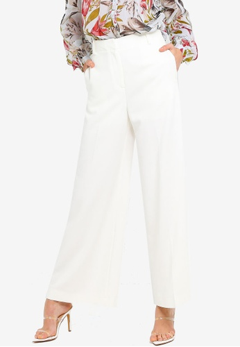 784e4fd1c08 Buy French Connection Aria Flare Tailored Trousers Online on ZALORA  Singapore