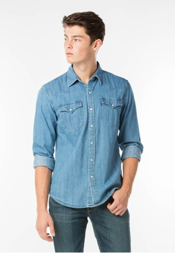 2cafe1f5c28 Buy Levi s Classic Western Shirt Online on ZALORA Singapore