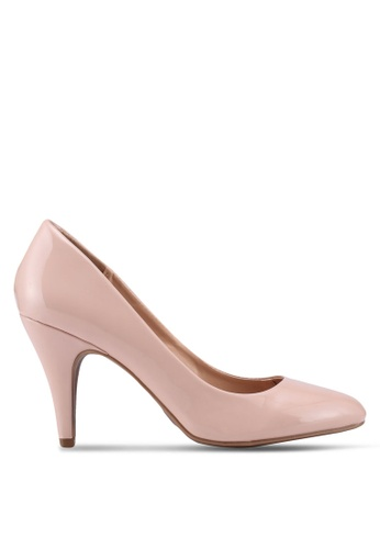 Dorothy Perkins pink Nude Claudia Court Shoes 25670SH9338E73GS_1