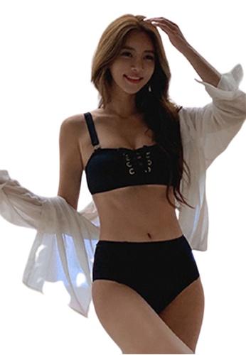 Halo black Black Sexy Swimsuit Bikini 2D5FEUS1C74C18GS_1