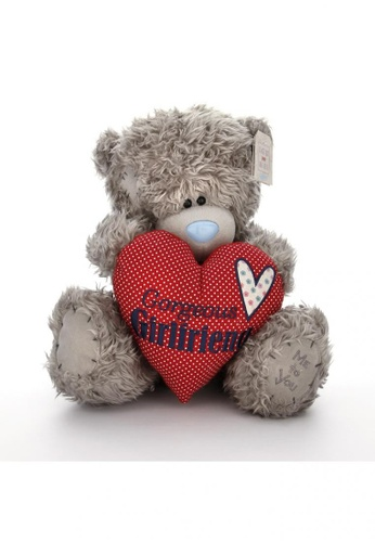 Her Jewellery Me to You Plush Toys -  12″ Tatty Teddy Holding Gorgeous Girlfriend Heart 7EE07THBDE8D5BGS_1