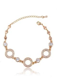 Round Austrian Crystal Bracelet by ZUMQA