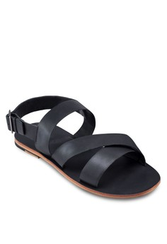 Multi Strap Leather Sandals