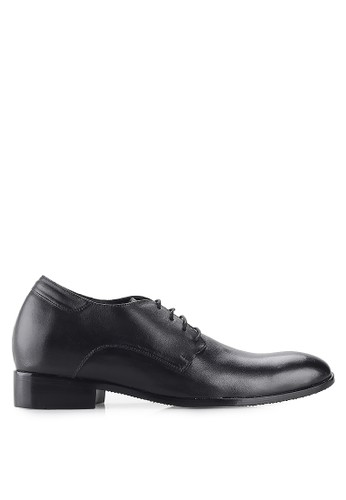 Keeve black Keeve Shoes Peninggi Badan Formal 108- Black FC988SH26FC9B8GS_1