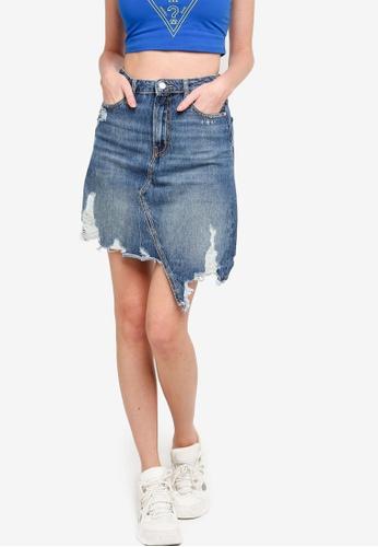 Guess multi Cassy Mini Skirt C7405AA99D9F01GS_1