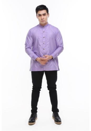 Amar Amran purple Kurta Raihan A91E2AAD438132GS_1