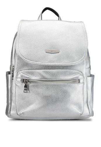 Perllini&Mel silver Faux Leather Backpack PE444AC0SCOFMY_1