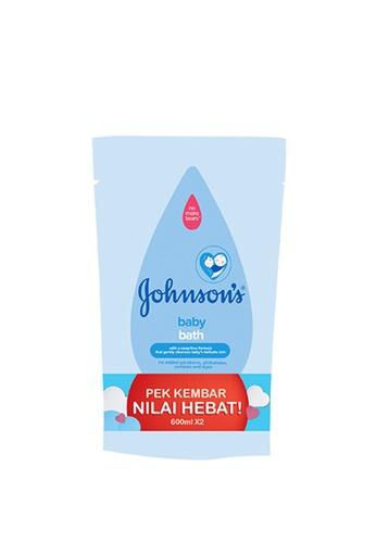 Johnson's Baby [Twin Pack] Johnson's Baby Regular Bath Refill 600ml E6C30ES84F20A0GS_1
