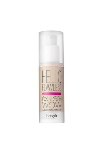 Benefit beige Benefit Hello Flawless! Oxygen Wow Liquid Foundation- Ivory Fair, Believe In Me BE670BE0RQZ8MY_1