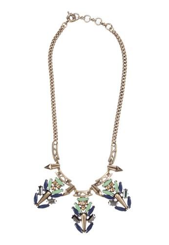 彩珠項鍊, zalora 評價飾品配件, 項鍊