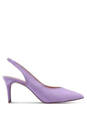 Dorothy Perkins 紫色 Lilac Essie 80S Court Shoes 5C169SH9B27676GS_1
