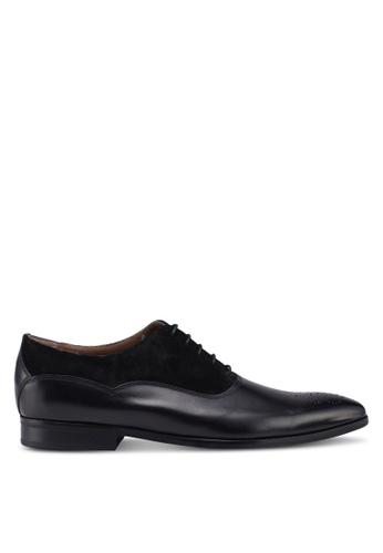 KG Kurt Geiger black Hopkins Np-black-leather/suede 20965SH2789F09GS_1