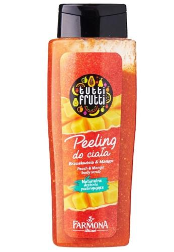 Tutti Frutti Tutti Frutti Peach and Mango Body Scrub 5BAD7BE26AFAD4GS_1