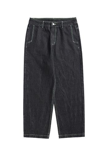 Twenty Eight Shoes Vintage Wash Jeans 3625S21 47558AA03B1FBEGS_1