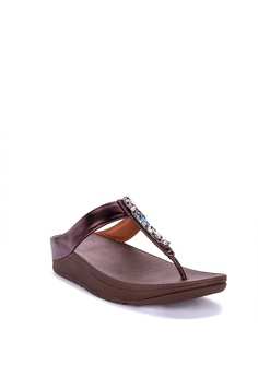66edab92b47 Fitflop Fino Bejewelled Toe Post Sandals Php 4
