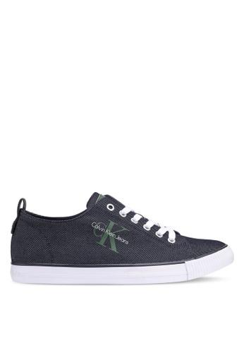 Calvin Klein blue Arnold Sneakers D073ASHBC40415GS_1