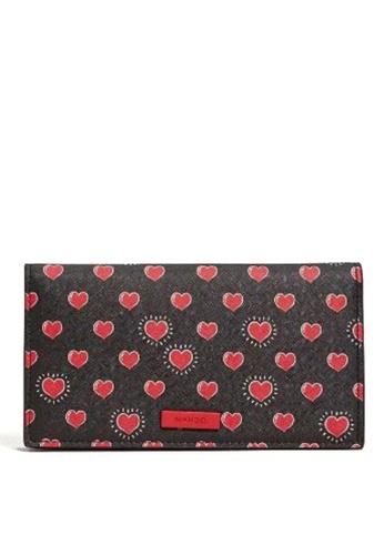 Mango red Printed Wallet 22D61AC2A1A60DGS_1