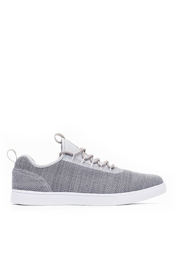 Life8 grey Casual Lightweight Elastic Shoes-09845-Grey 3EAF3SH2806800GS_1