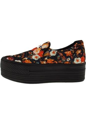 Maxstar Maxstar Women's C50 Platform Canvas Skate Slip On Shoes US Women Size MA168SH47CIEHK_1
