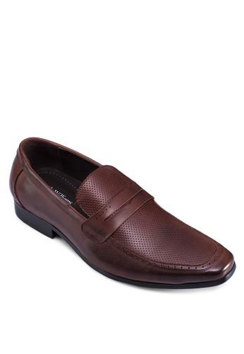 方esprit 台北頭沖孔皮鞋, 鞋, 鞋