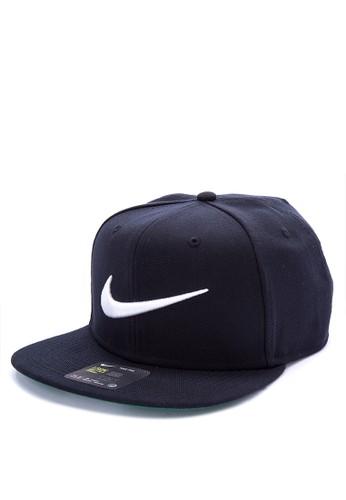 Nike black Unisex Nike Sportswear Pro Swoosh Classic Hat 41A22ACC80B0F3GS_1