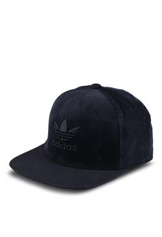 adidas black adidas originals tref herit snapback cap 93F40AC091211DGS 1 ab2e5175194