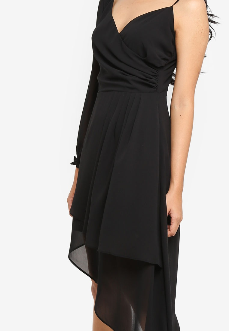 Proper amp; Preen Dress Black Asymmetrical gBqtxnqw