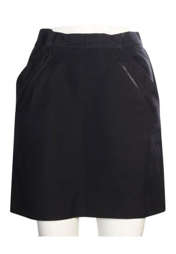 Chloé black chloé Black Skirt 85CB7AA1970329GS_1