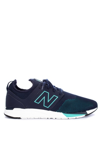 New Balance navy 247 Sport Lifestyle Sneakers C8BC4SH906DB7AGS_1