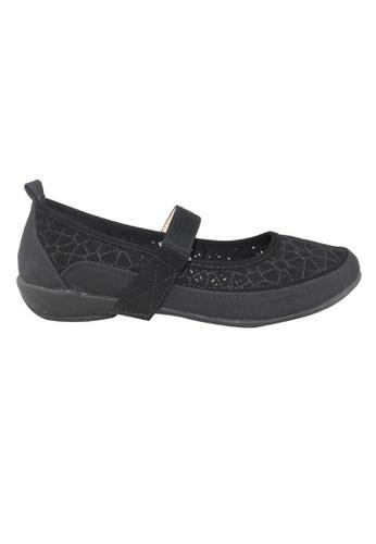 midzone black MIDZONE Comfortable Women Loafer MI949SH81LJEMY_1