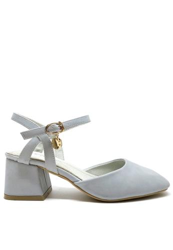 Twenty Eight Shoes blue Ankle Strap Middle Heels 38BBFSHA451794GS_1